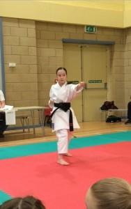 Olivia karate comp3